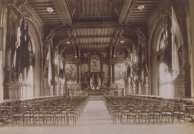 De zaal in haar oude glorie © Felixarchief