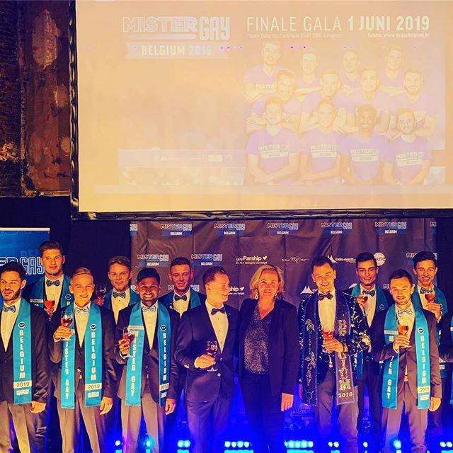 Vanavond was het de persvoorstelling van de finalisten van Mister Gay Belgium. De laatste finalisten strijden om de felbegeerde titel van Mister Gay Belgium 2019 🌈