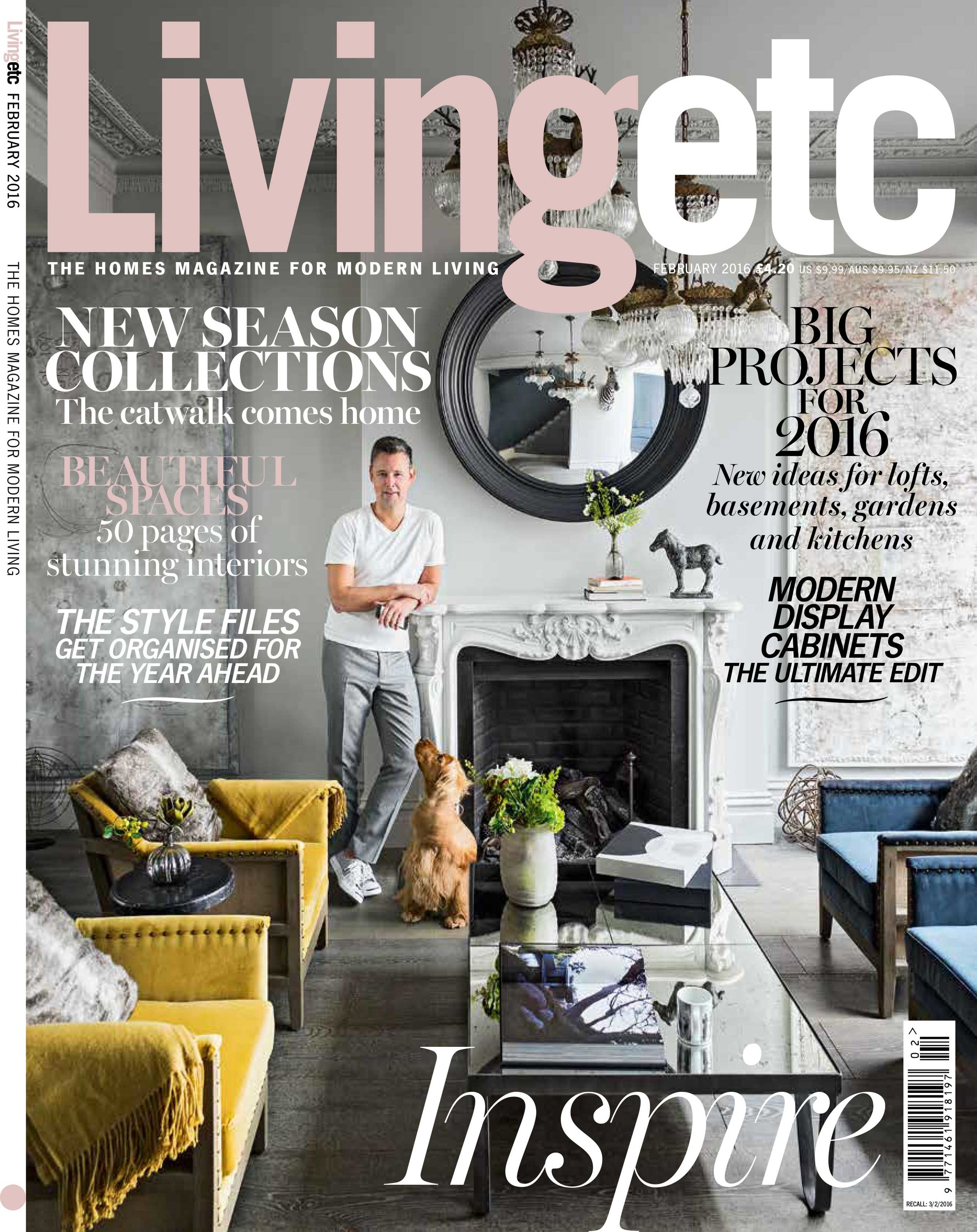 Living etc - February 2016 issue