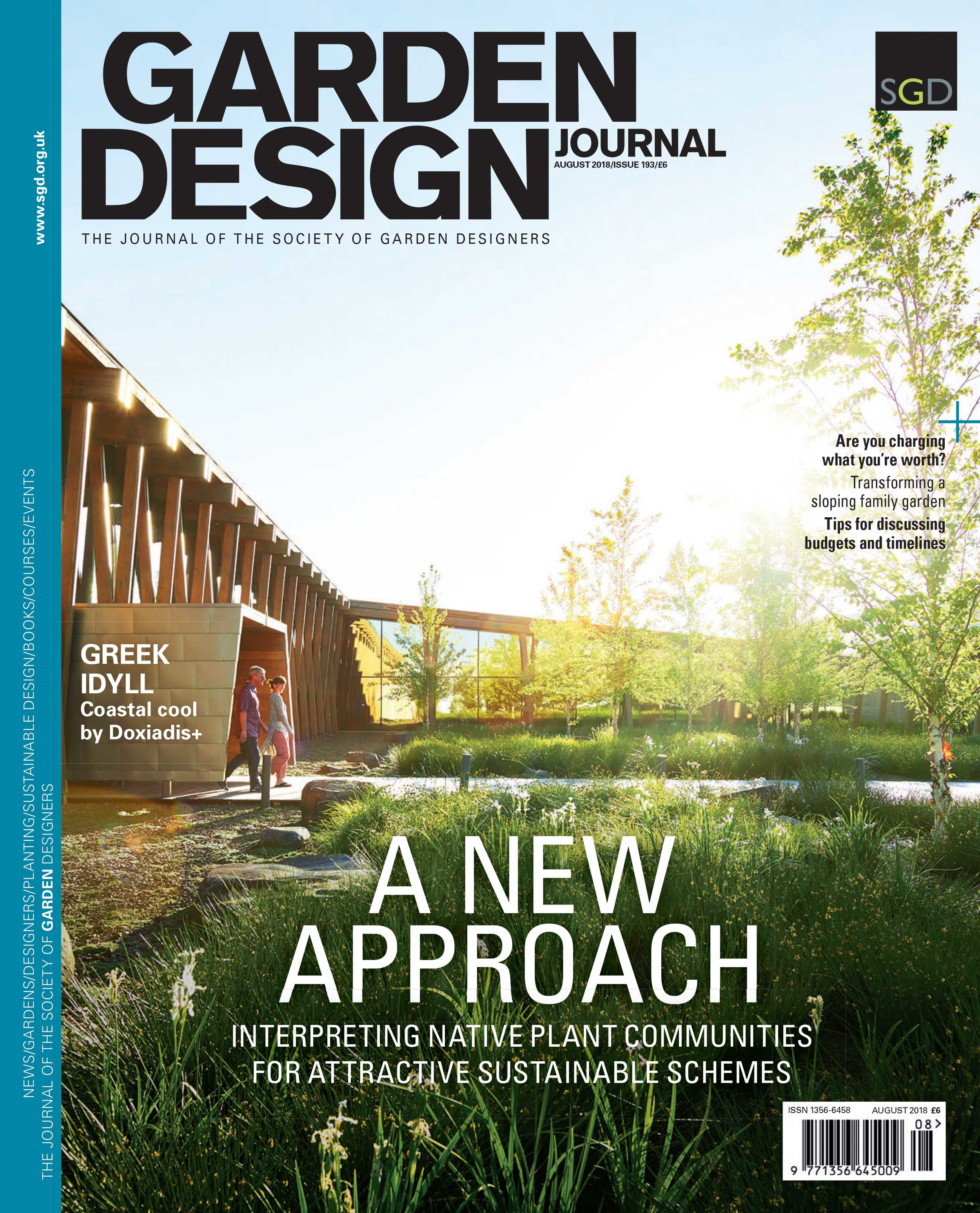 SGD - Garden Design Journal - August 2018 issue