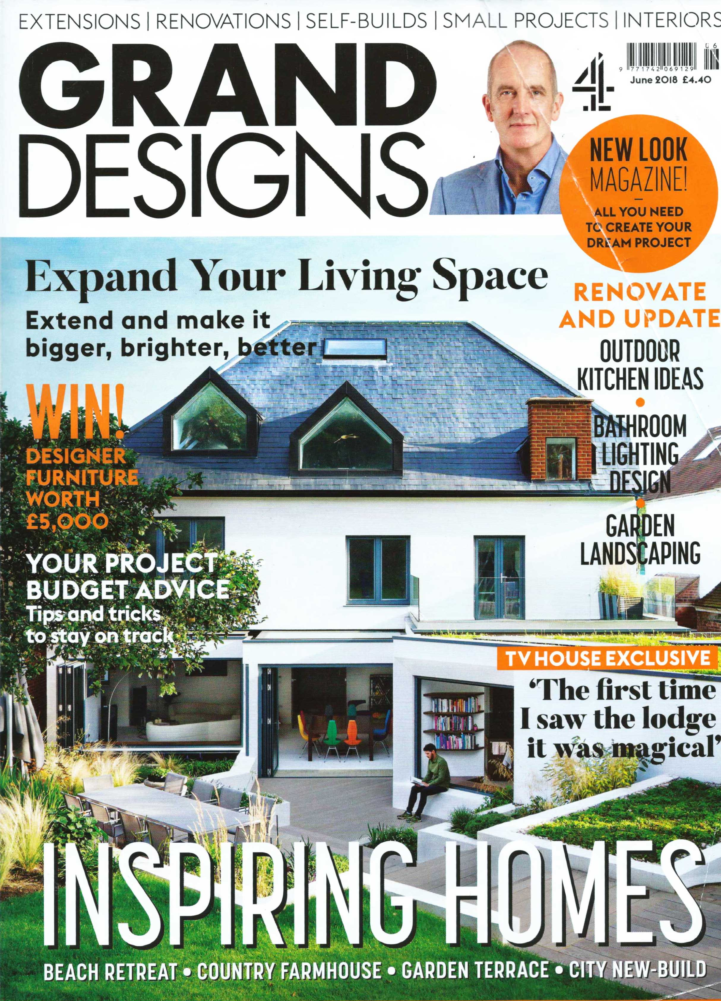 Grand Designs - June 2018 issue