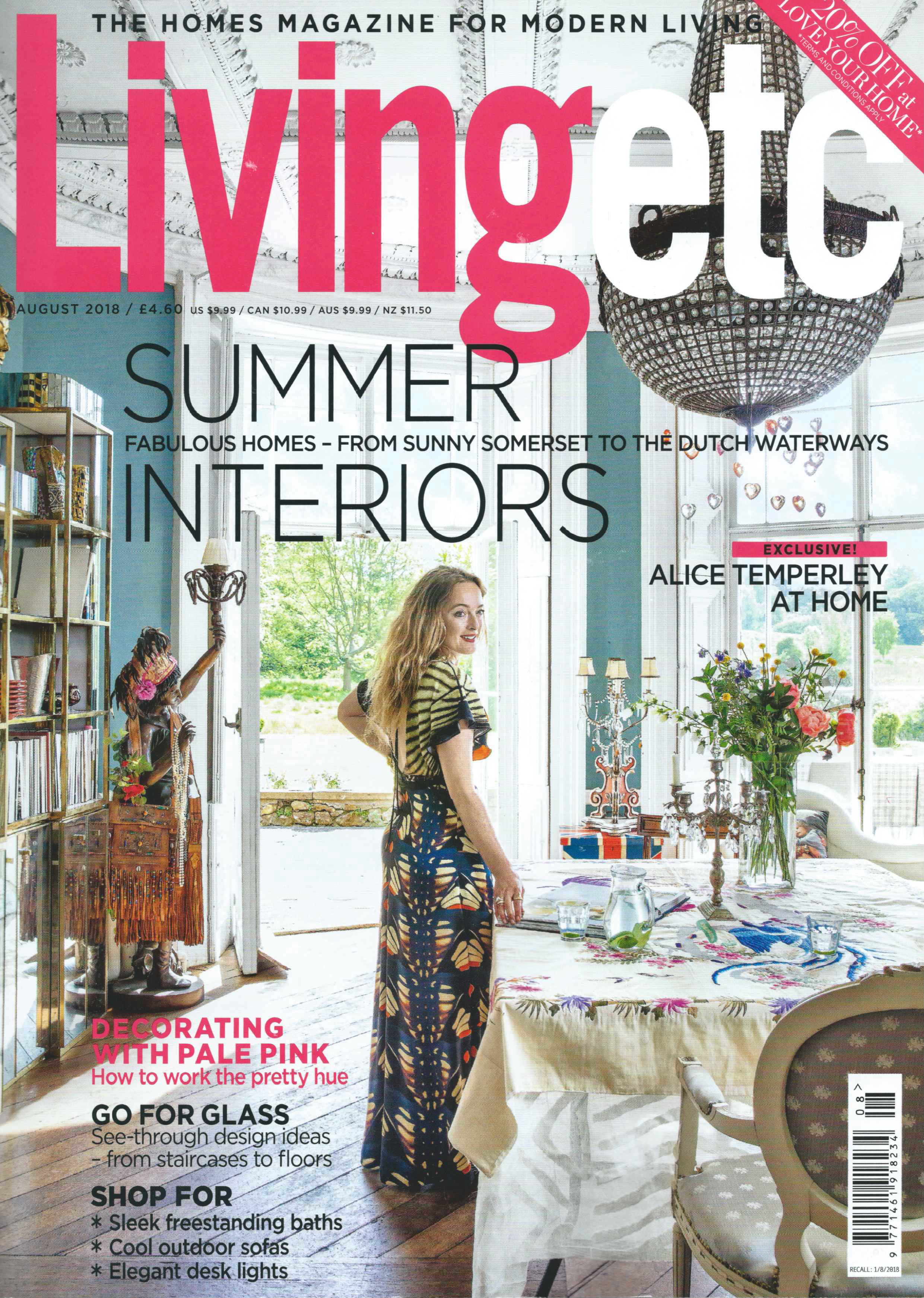Living etc - August 2018 issue