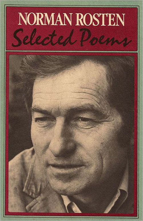 Selected Poems of Rosten