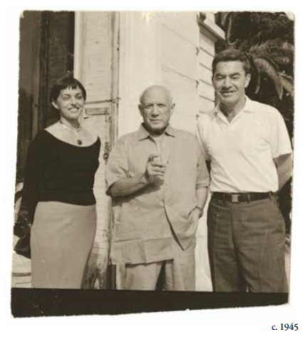 Marsha Braziller, Pablo Picasso, and George Braziller
