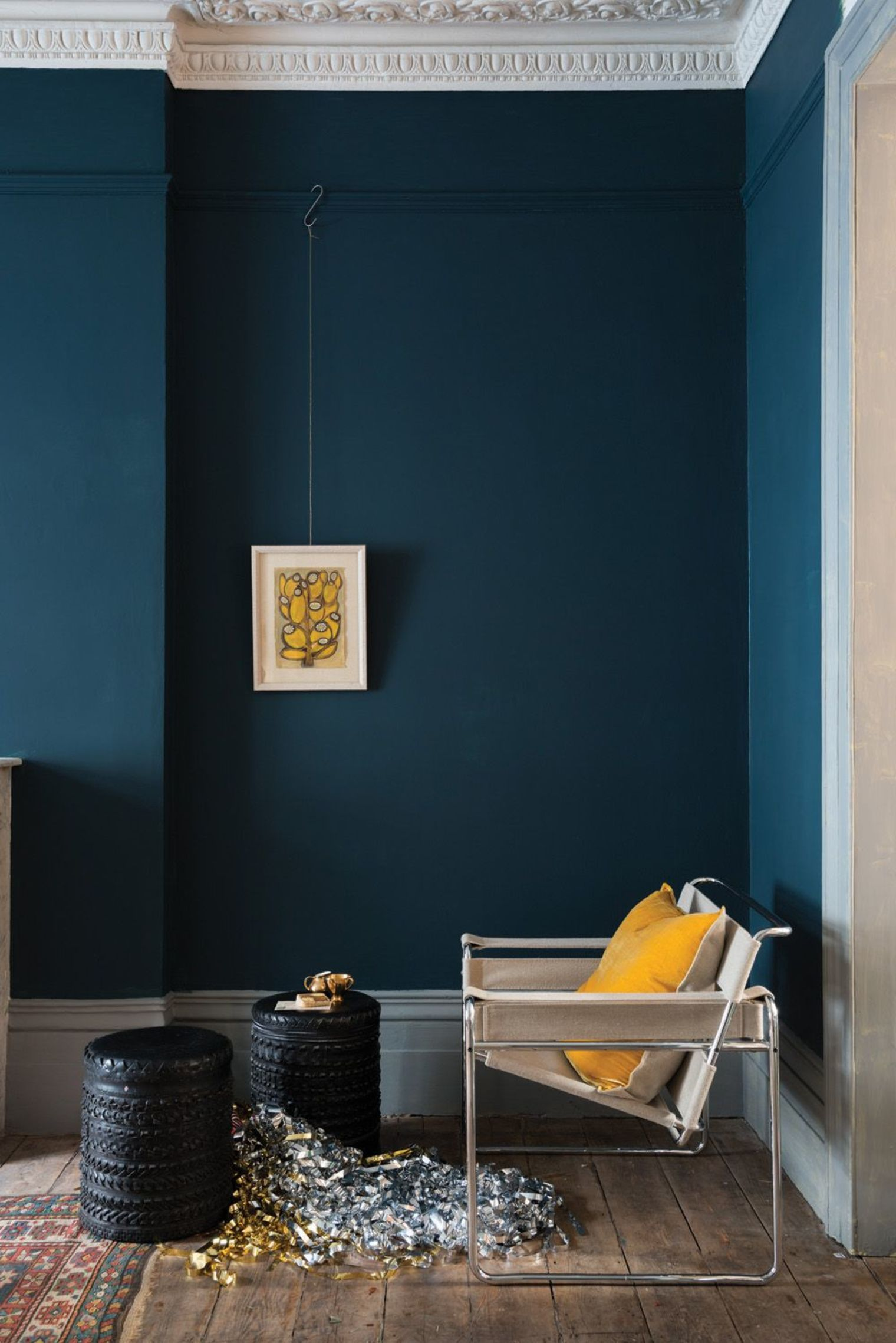 My Color Palette: Blue with Black Accents