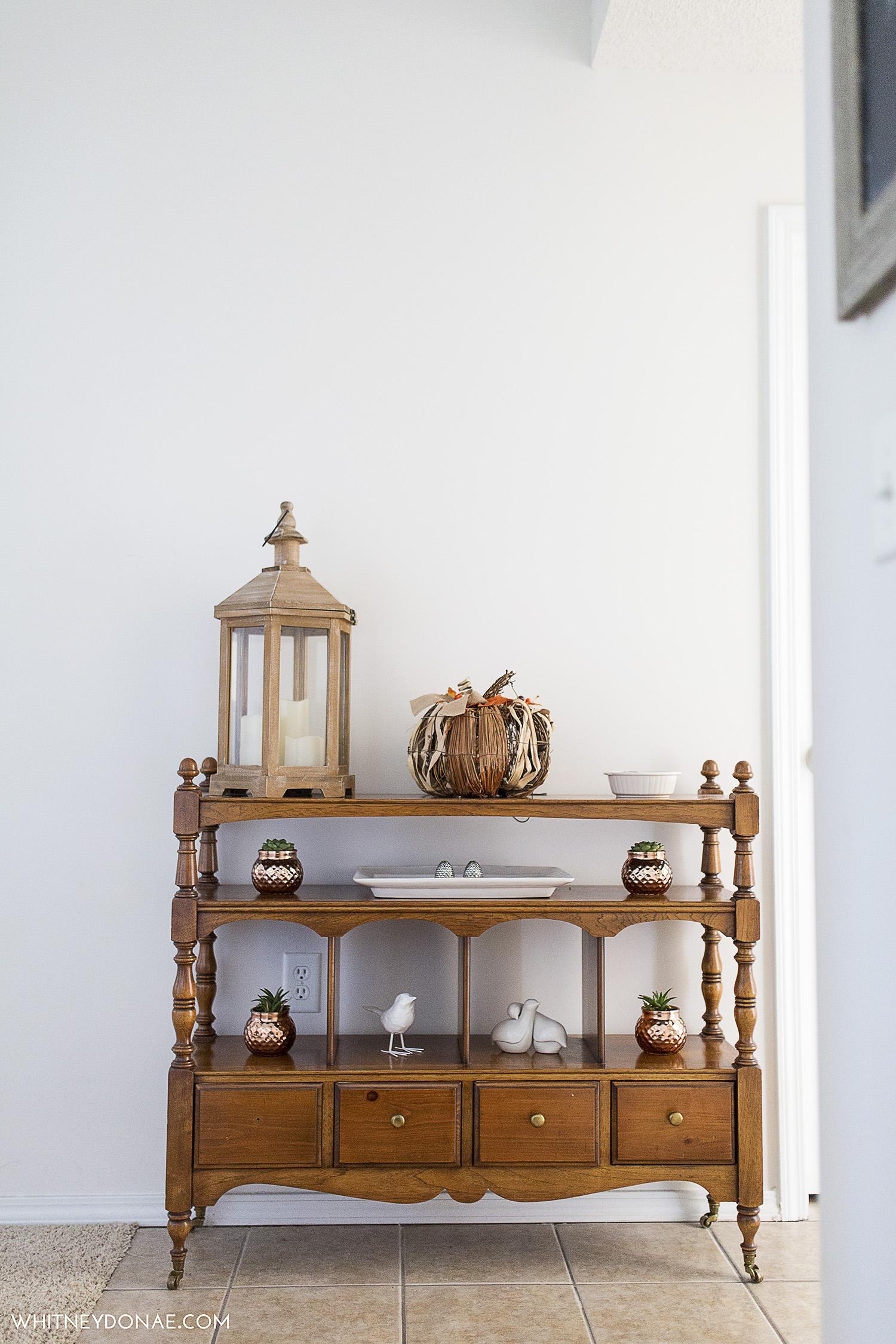 Styled Wood Credenza