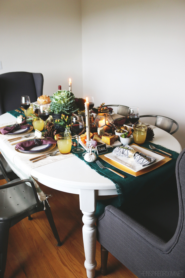The Inspired Room Tablescape