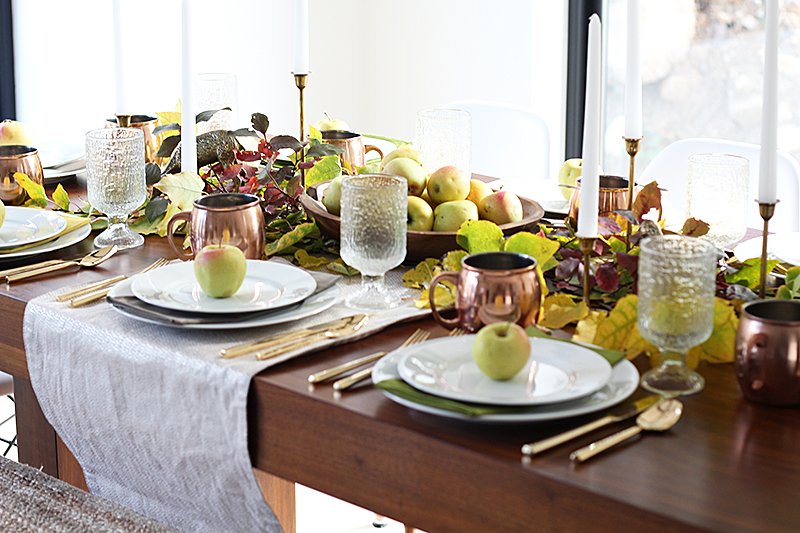 With Heart Tablescape