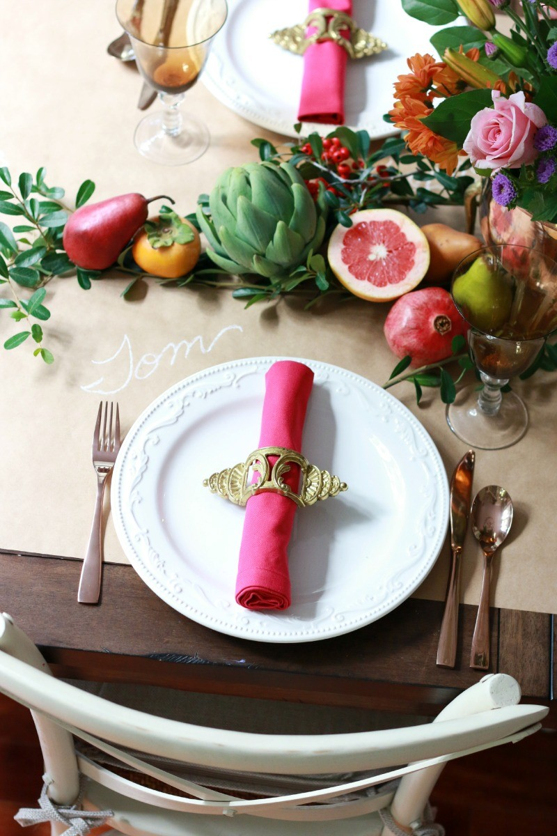A Thoughtful Place Tablesetting