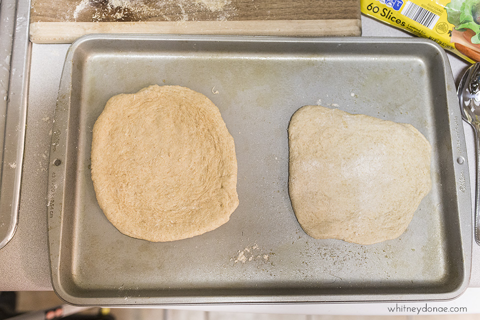 The World's Easiest Homemade Pizza Dough - Whitney Donáe