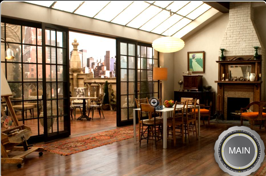 Design Inspiration: Neal Caffrey's Apartment