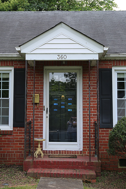How We Picked the Perfect Shade of Blue for Our Front Door