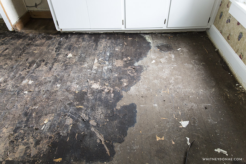 Remove Tar Paper From Wood Floors