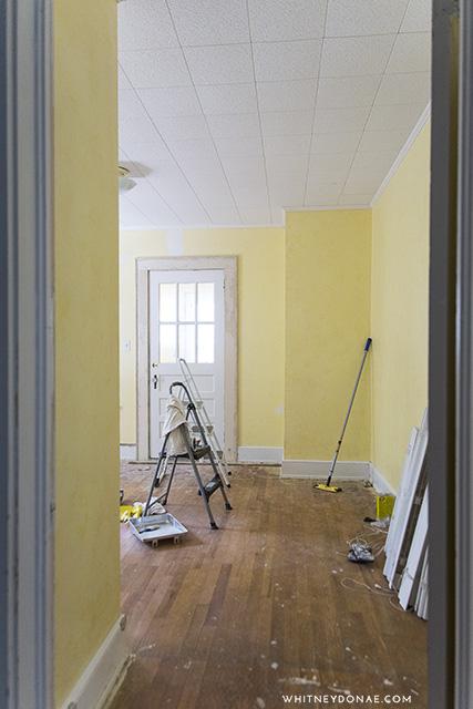 Master Bedroom Progress: New Wall & Color