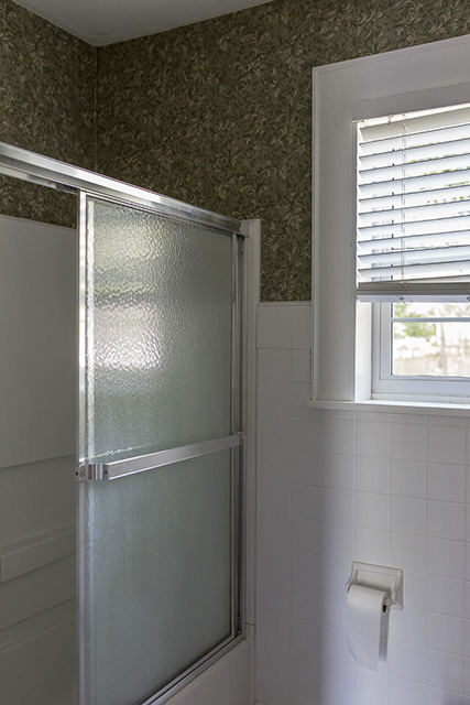 Pickens' Bathroom Before & After