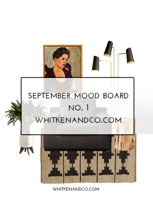 September Mood Board No. 1