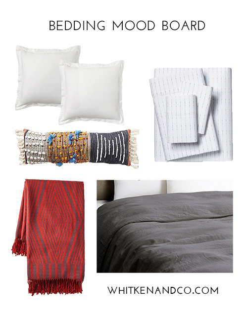 Bedding Mood Board - Whitken & Co.