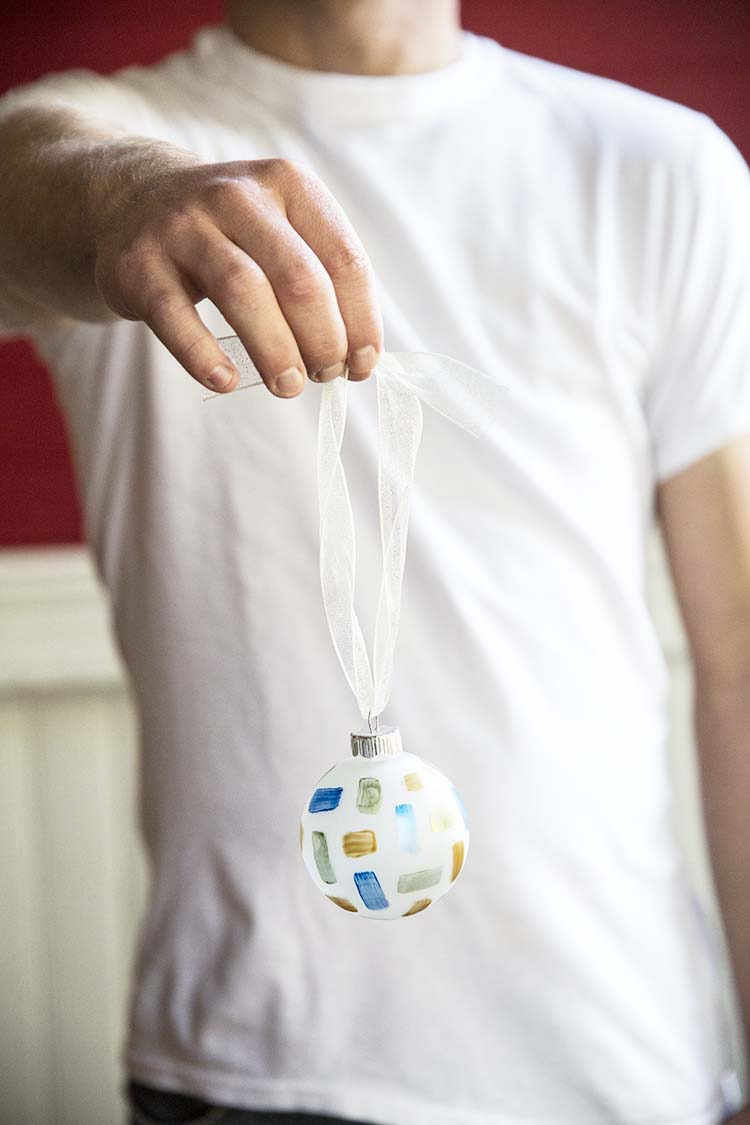 DIY Christmas Tree Ornament - Whitken & Co.