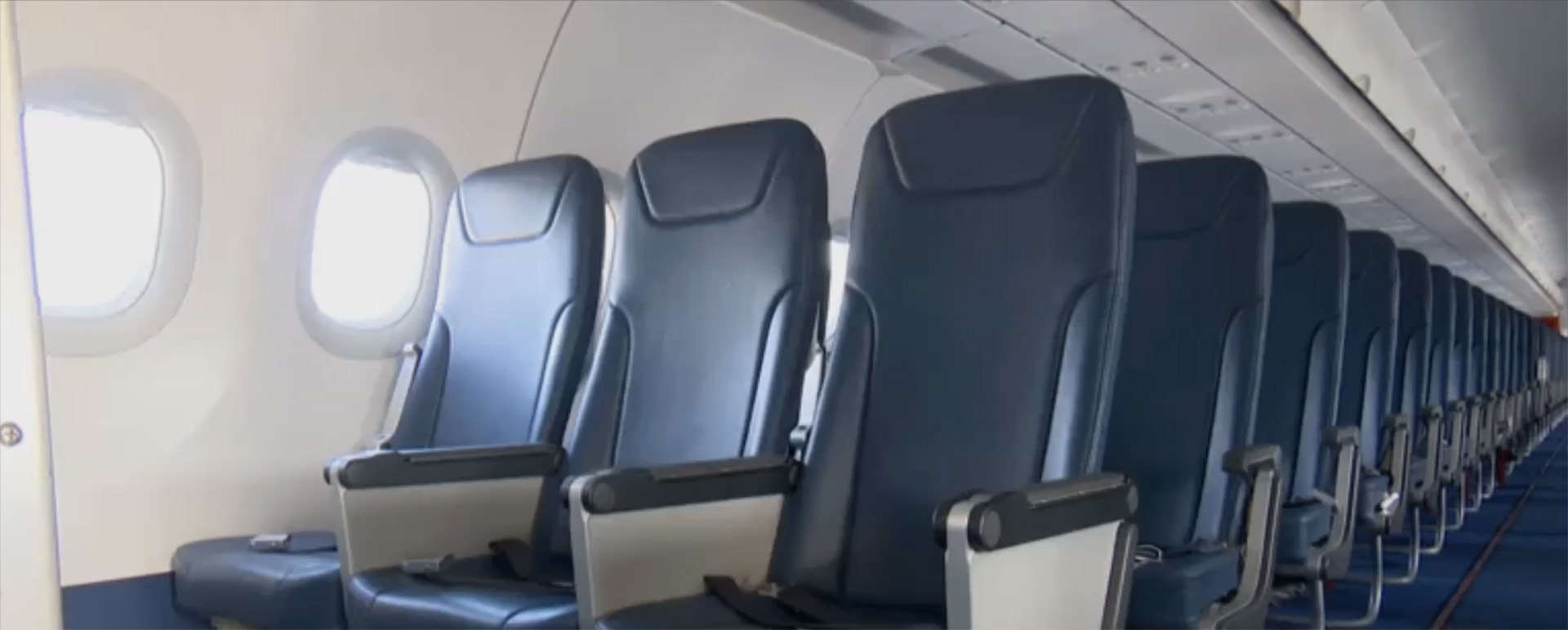 Pitch PF3000 seats fitted to Israir Airlines A320 fleet under 16g (C127b) certification