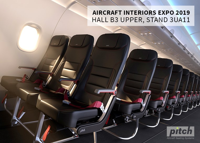 Pitch Aircraft Interiors Expo 2019