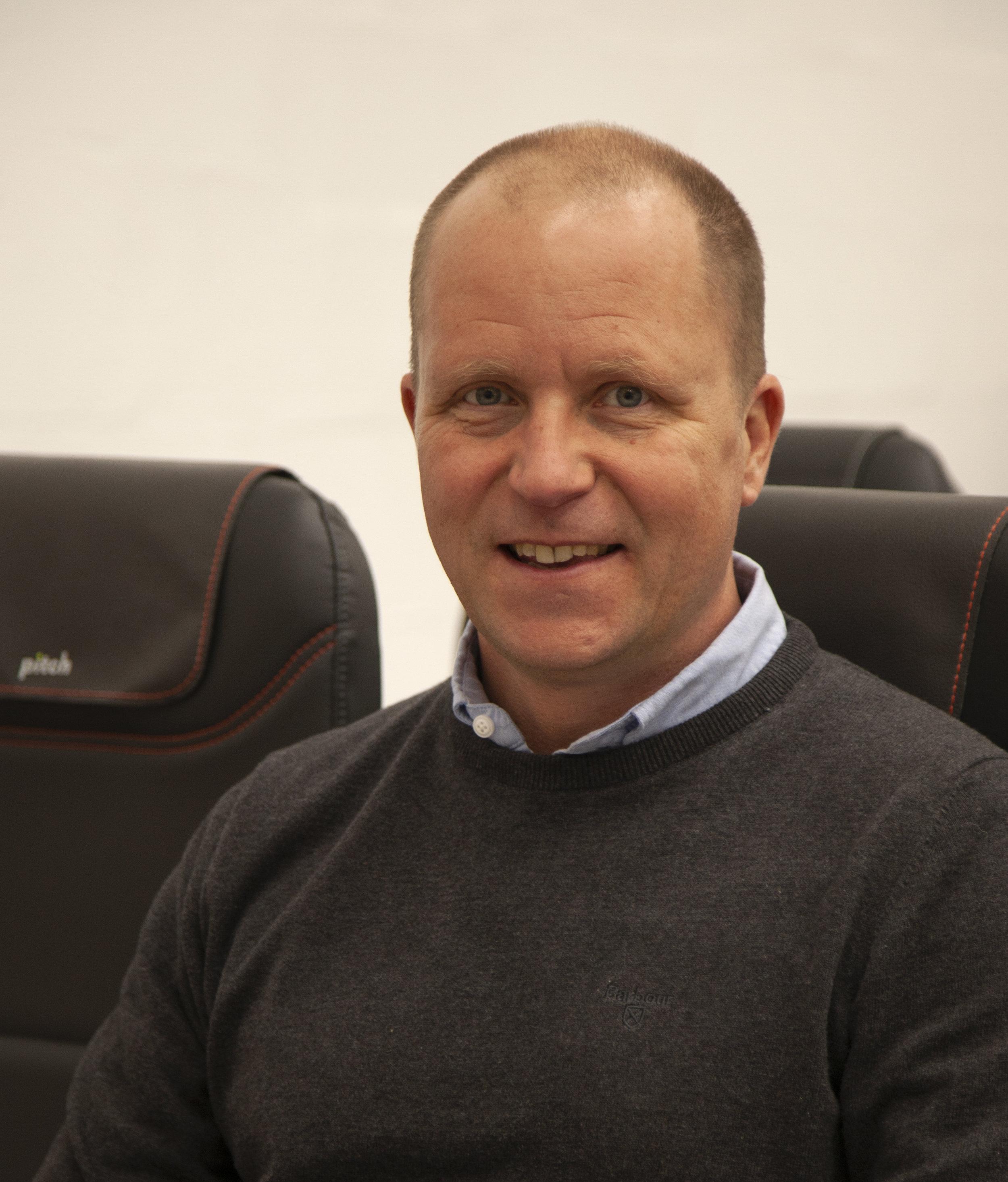 David Rice - Pitch Aircraft Seating
