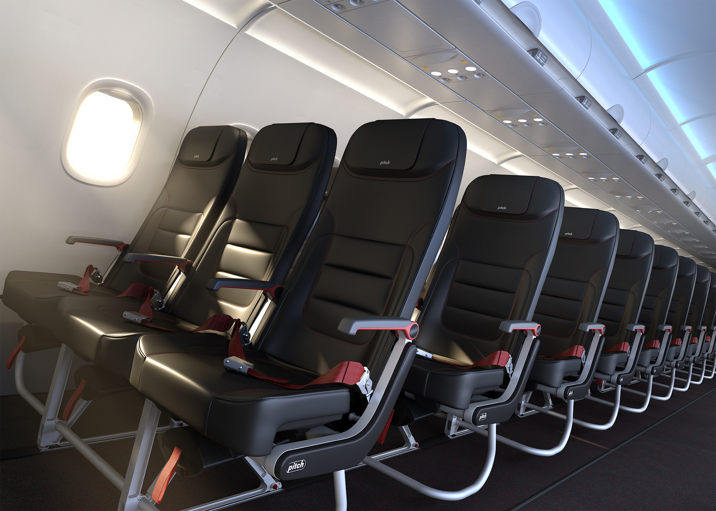 Pitch Aircraft Seating