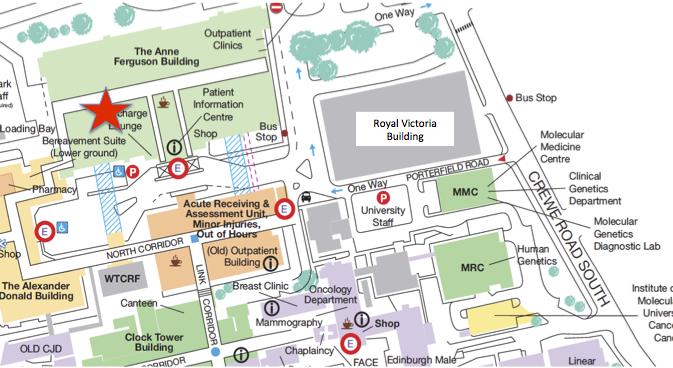Western General Hospital Edinburgh Map Western General Diabetes Clinics — Edinburgh Centre for