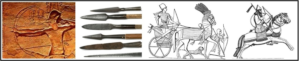 C. Pastoralists were often the developers and disseminators of  new  weapons ( Compound Bows ,  Iron Weapons )and  modes of transportation (  Chariots  ,  Horseback riding )that transformed warfare in agrarian civilizations.