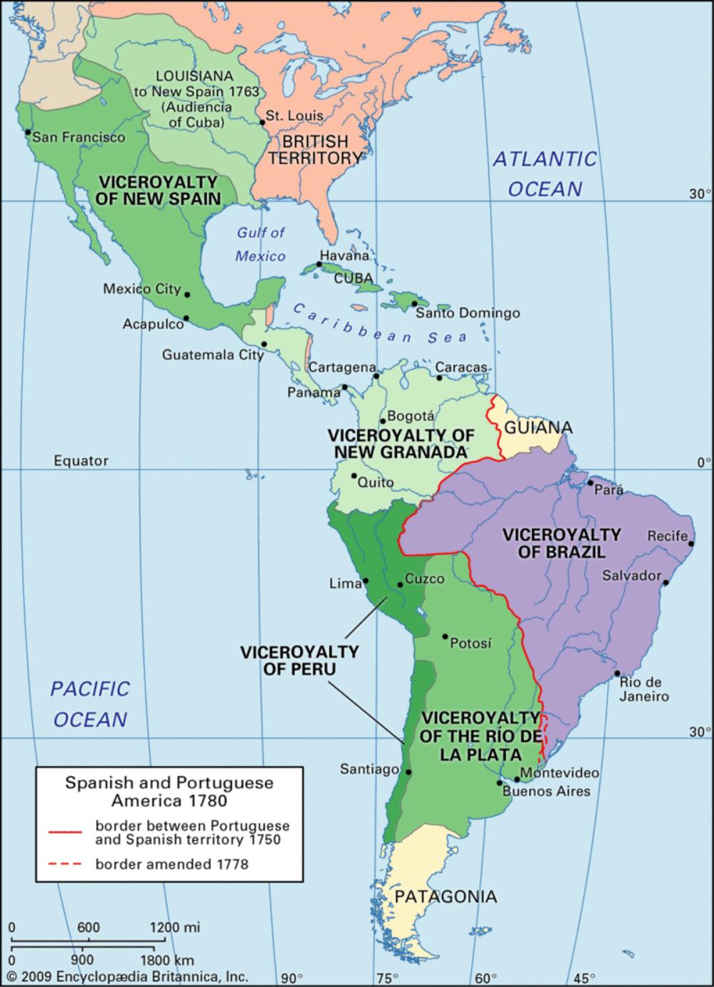 Viceroyalties of Spain