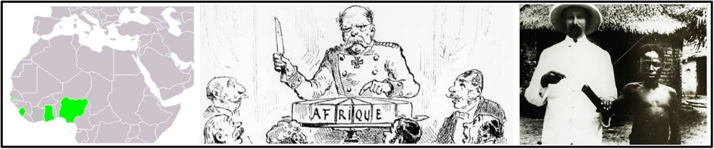 C. Many  European states ( Britain in West Africa , Belgians in the Congo ) used both warfare and diplomacy to  establish  empires in Africa