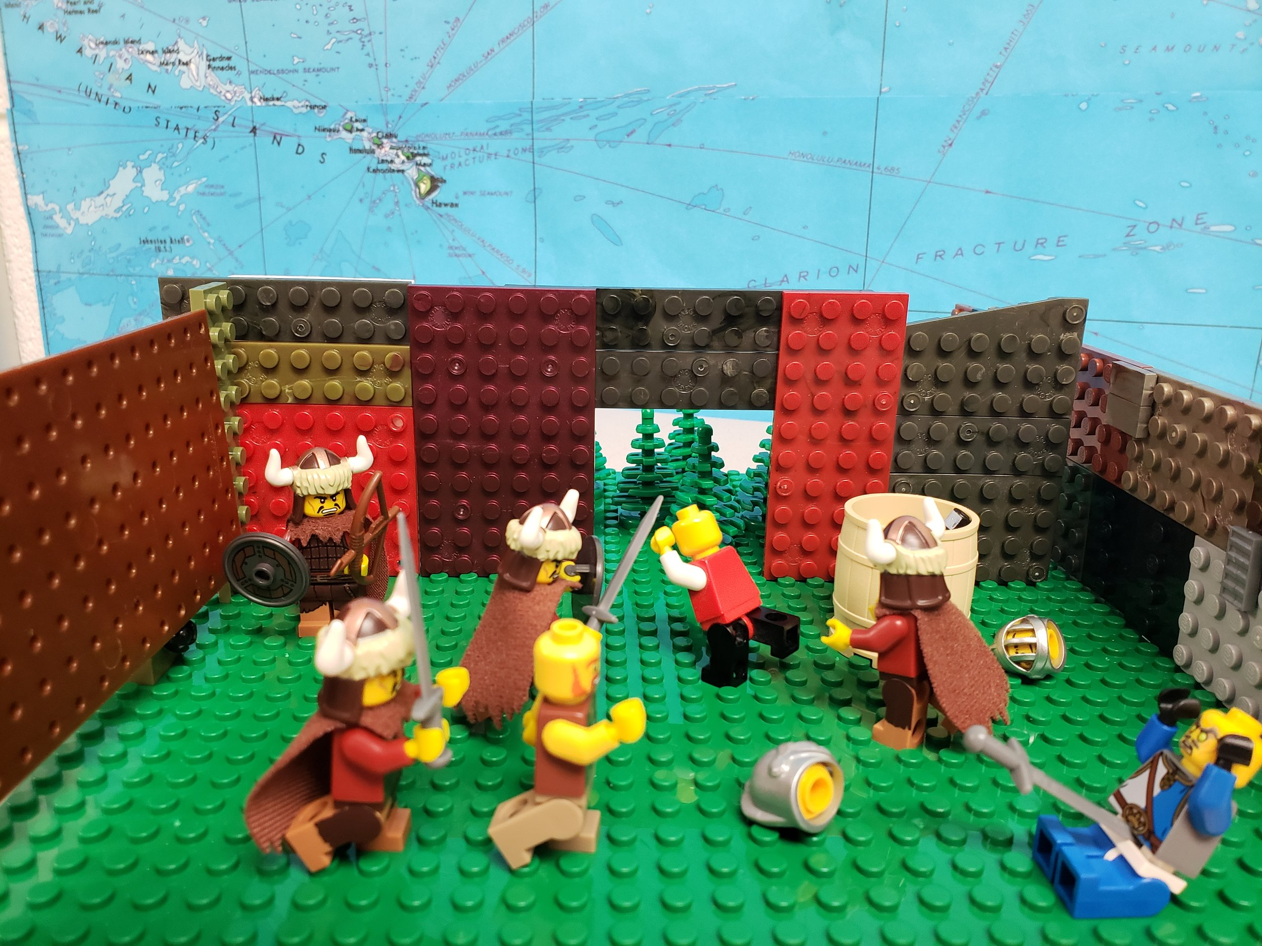 """Mongols swarm the Kievans"""