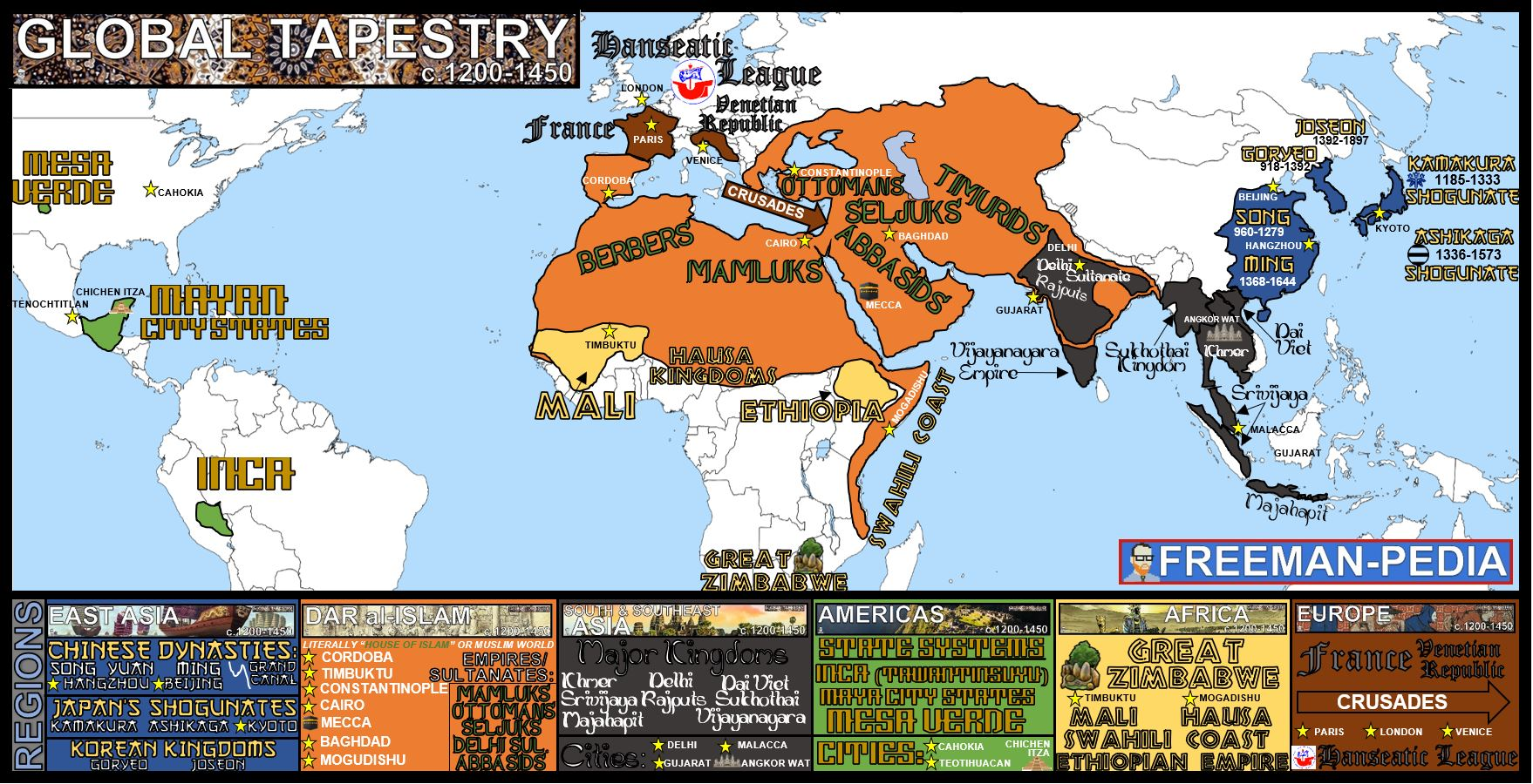 GLOBAL TAPESTRY FREEMANPEDIA MAP AP WORLD MODERN 2019.JPG