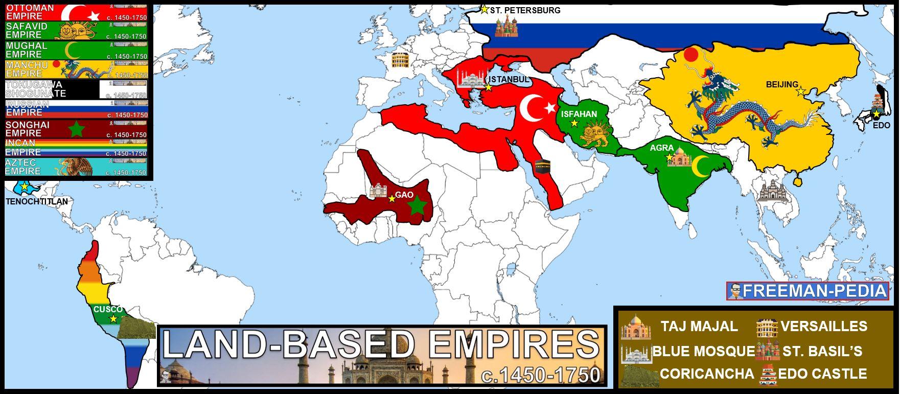 LAND EMPIRES MAP AP WORLD HISTORY FREEMANPEDIA MODERN.JPG