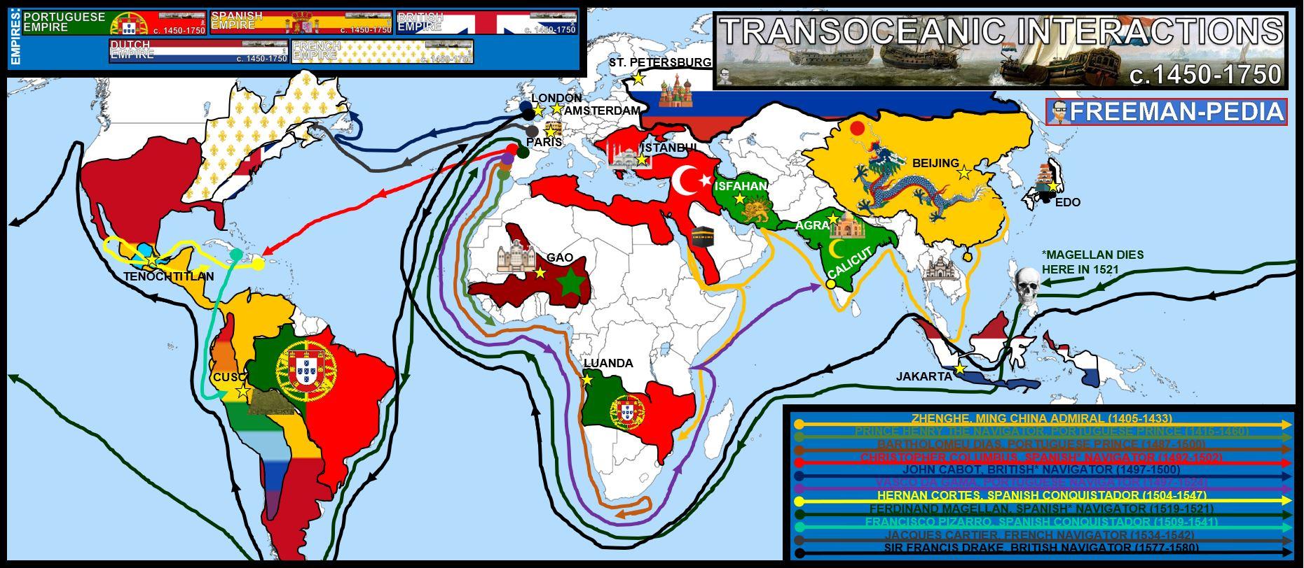 TRANSOCEANIC INTERACTIONS MAP FREEMANPEDIA AP WORLD MODERN.JPG