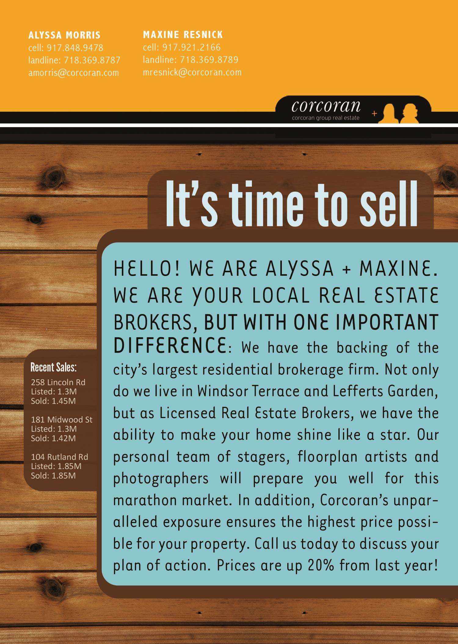 Branding Identity Promo, Backside, Mailer 1 of 4