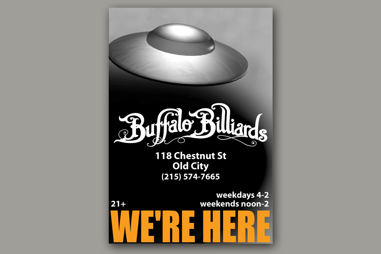 Buffalo Billiards Opening