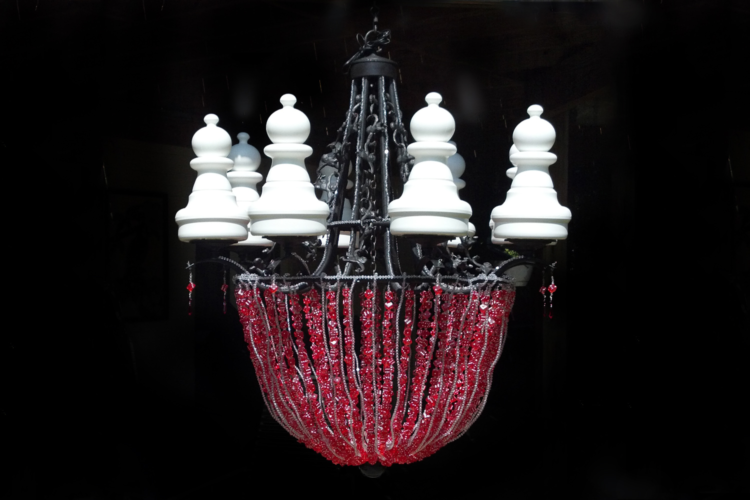 Game chandelier