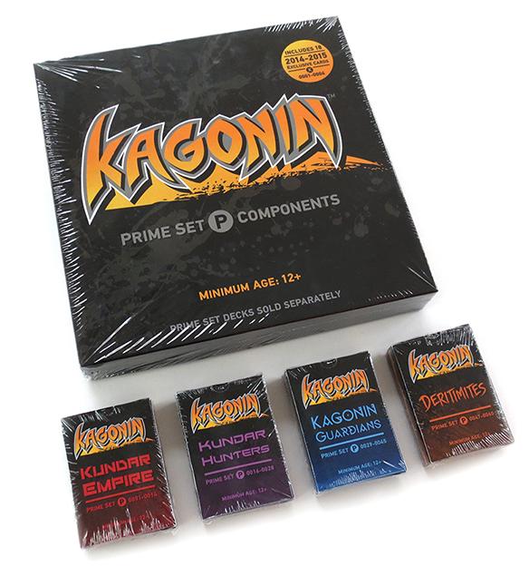 KAGONIN: THE COMPLETE PRIME SET