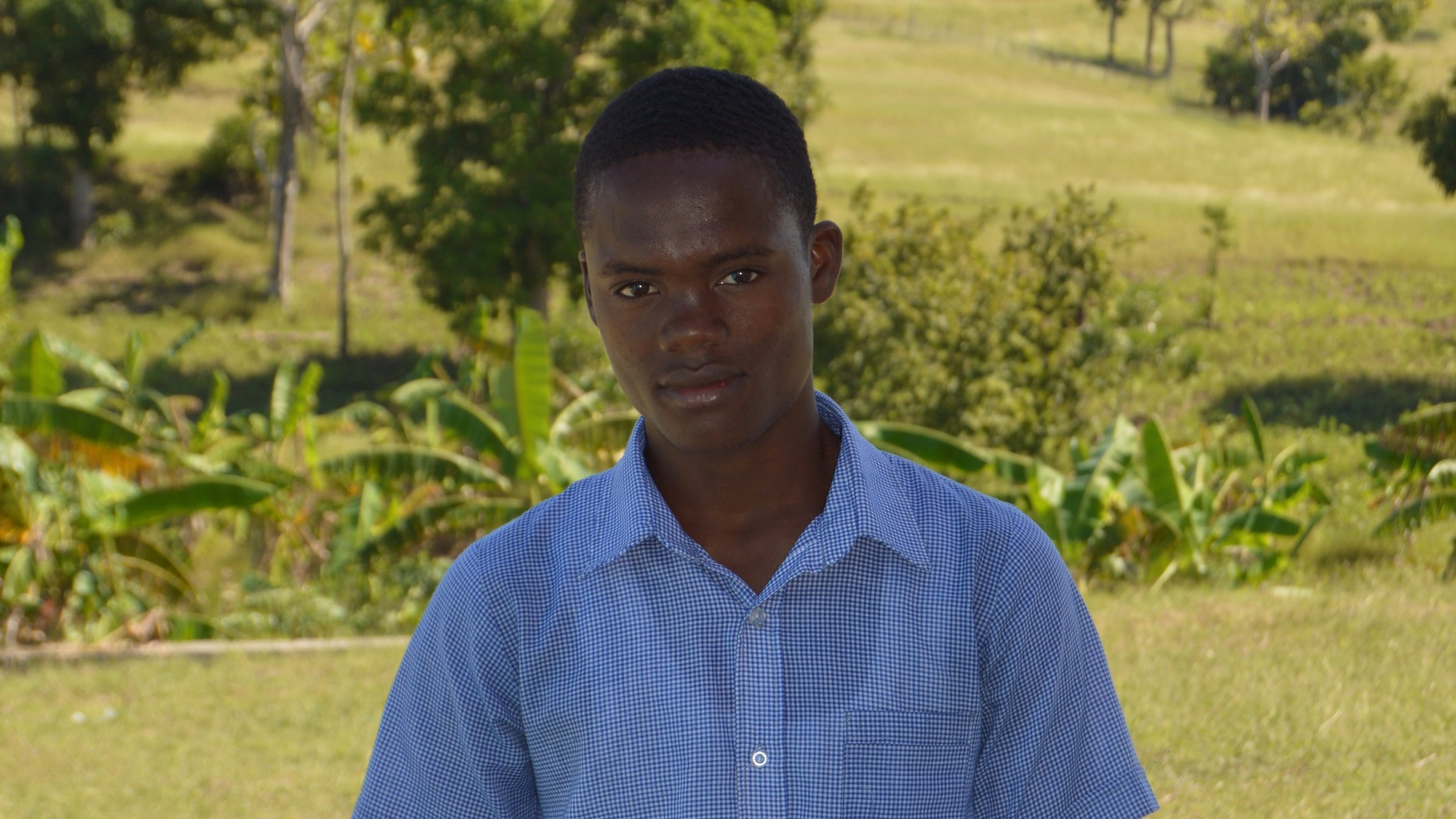 Claudy, Work Study Student   CLAUDY, one of five work study students, CONTINUES TO BE AMONG THE TOP THREE STUDENTS IN HIS CLASS AS HE CONSISTENTLY EXCELS IN ACADEMICS AND SHOWS LEADERSHIP BEYOND HIS YEARS.