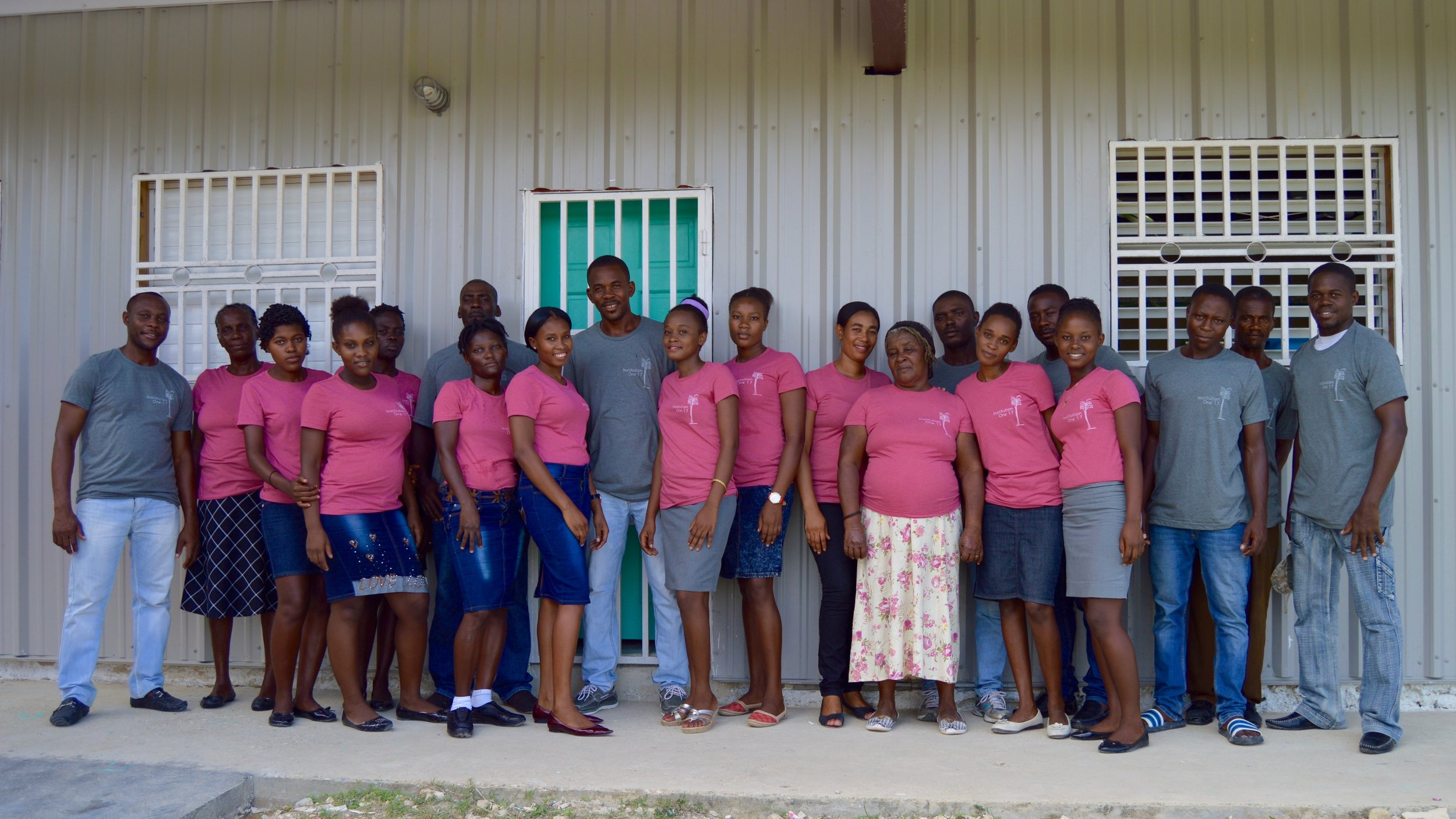 Employ 20 Haitian staff,  our largest staff ever.
