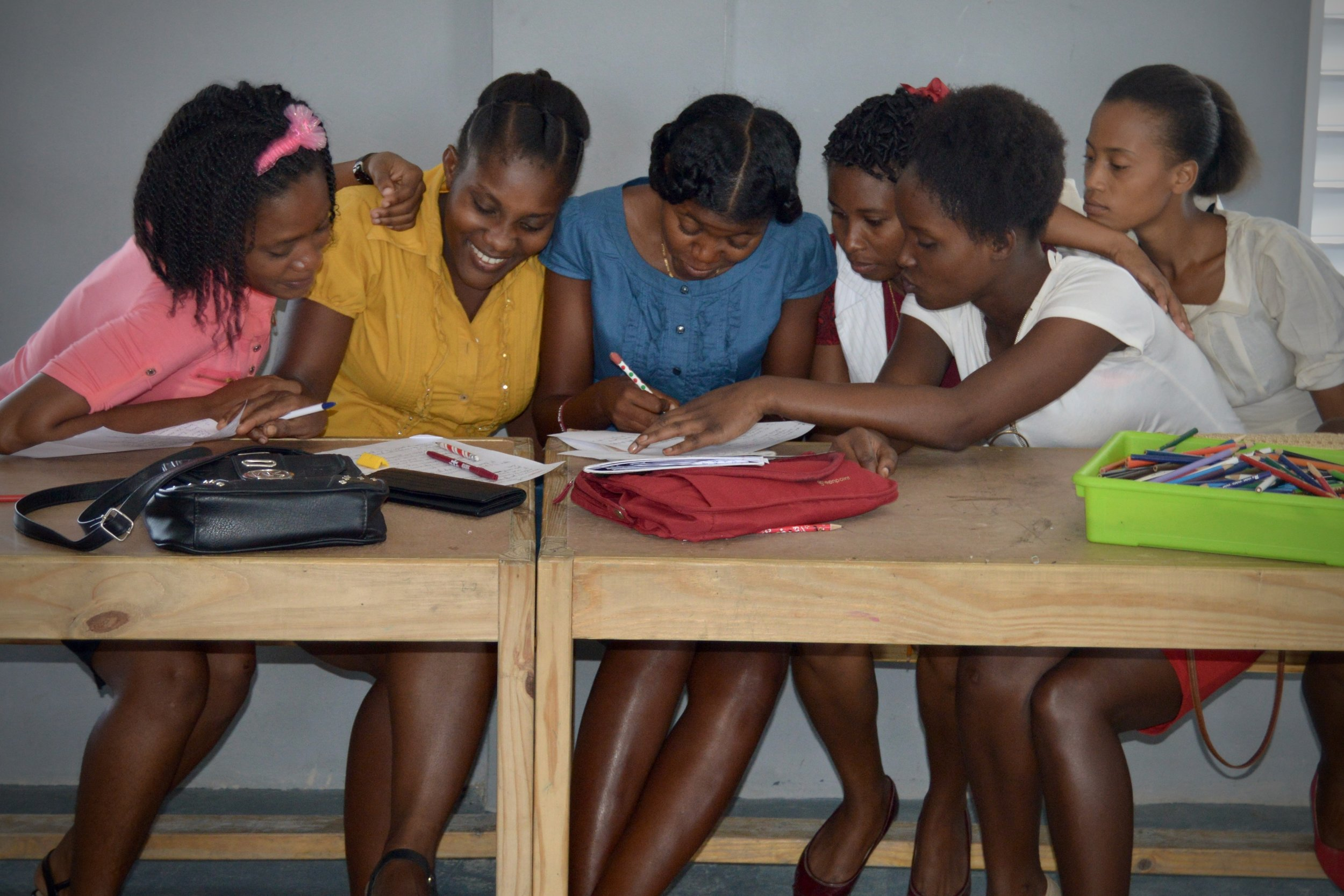Staff Training - Our Haitian staff received 98 hours of collective training on leadership, personal health, team-building, and job skills development. We are equipping them to be the light of the world to their community!