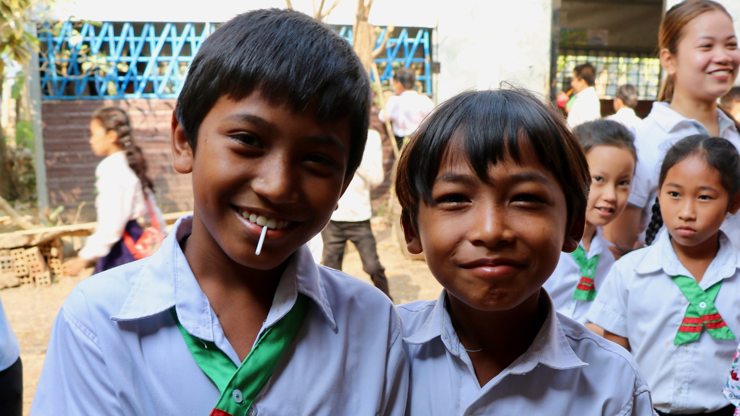 Cambodia - We have partnered with New Hope School to serve 204 students.