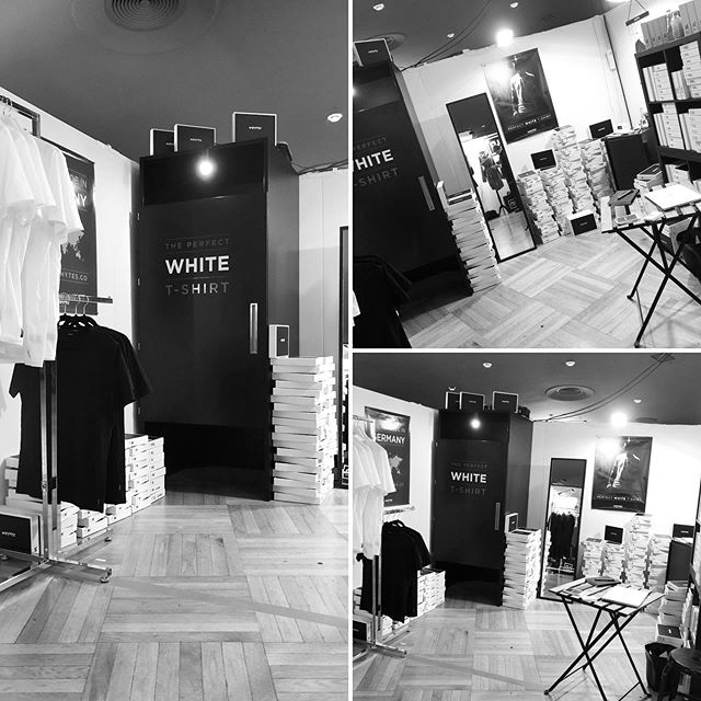 We had a blest at a trade show event in Stuttgart, called @blickfang.official Internationale Designmesse last month. Awesome customers, great team and perfect event. Thank you all very much for coming and believing in our brand. #perfectWhiteTshirt #madeInGermany #lifestyle