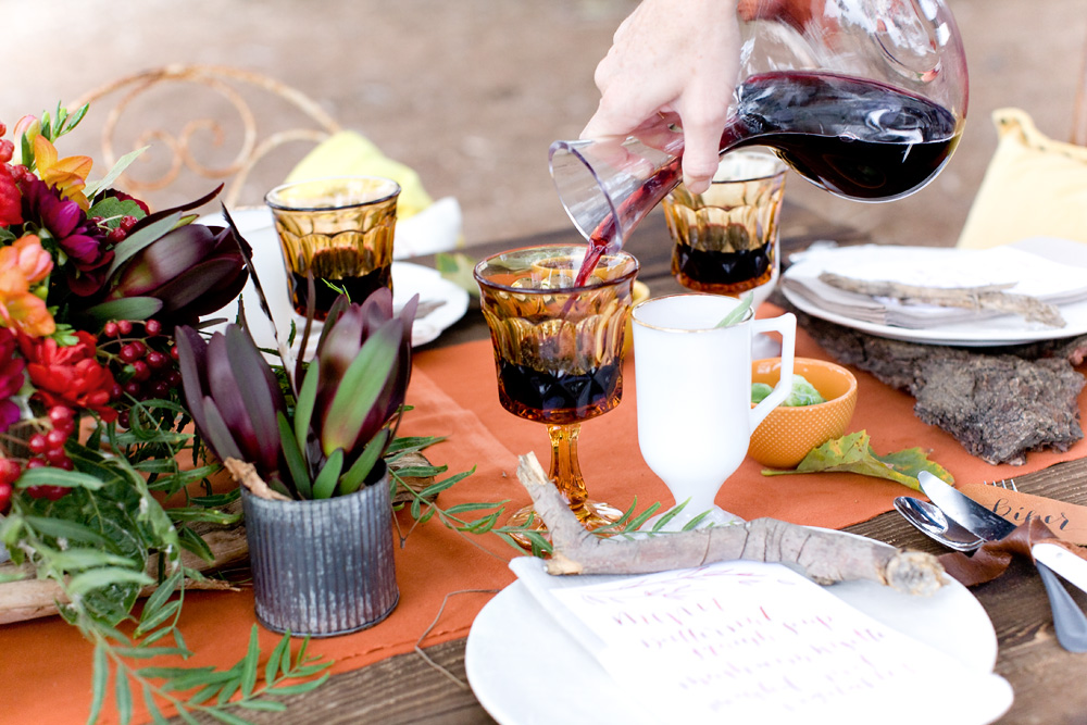fall table styling ideas