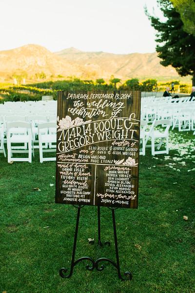 Blush wood wedding sign