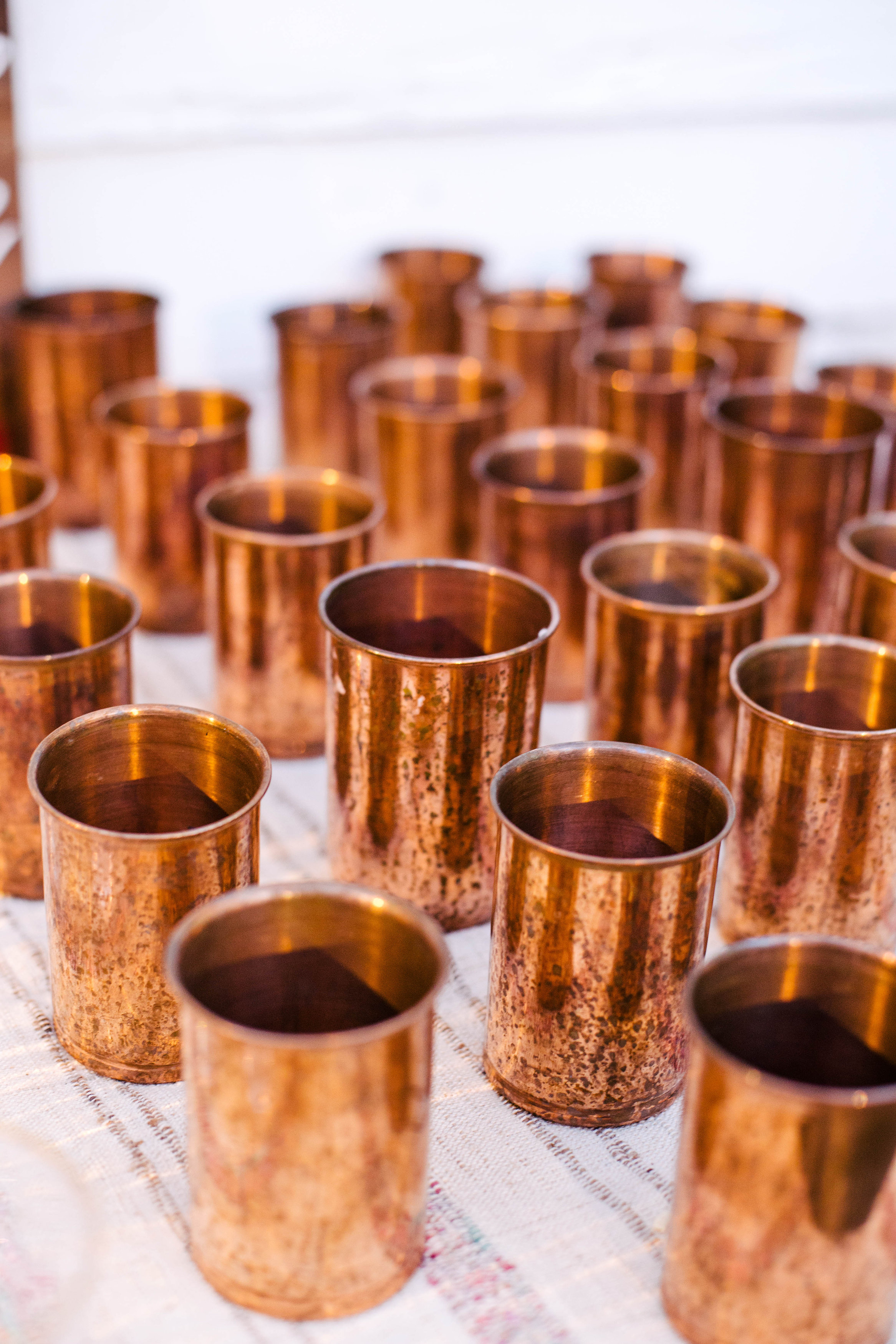 Copper barware