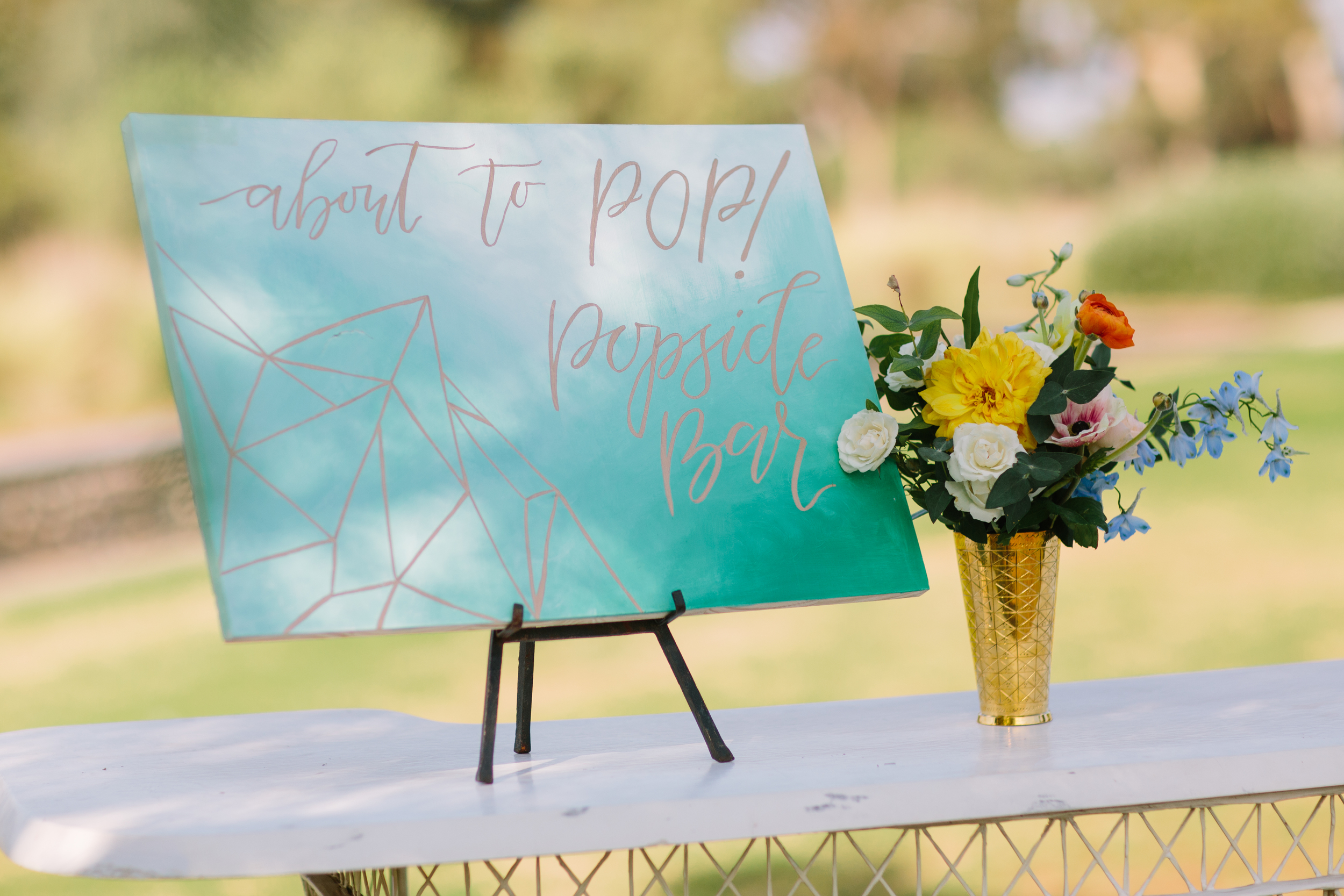 baby shower popsicle bar