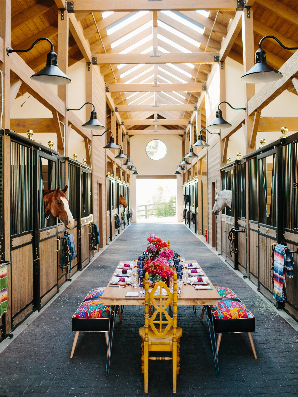 Horse Ranch Dinner Inspiration