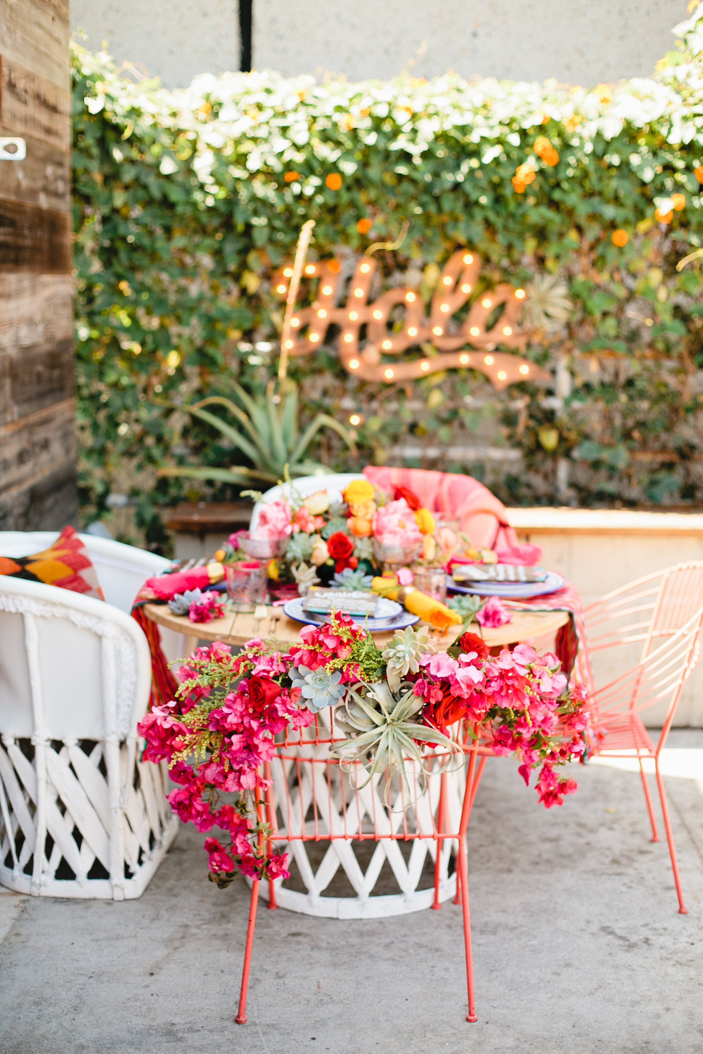 Mexican inspired party
