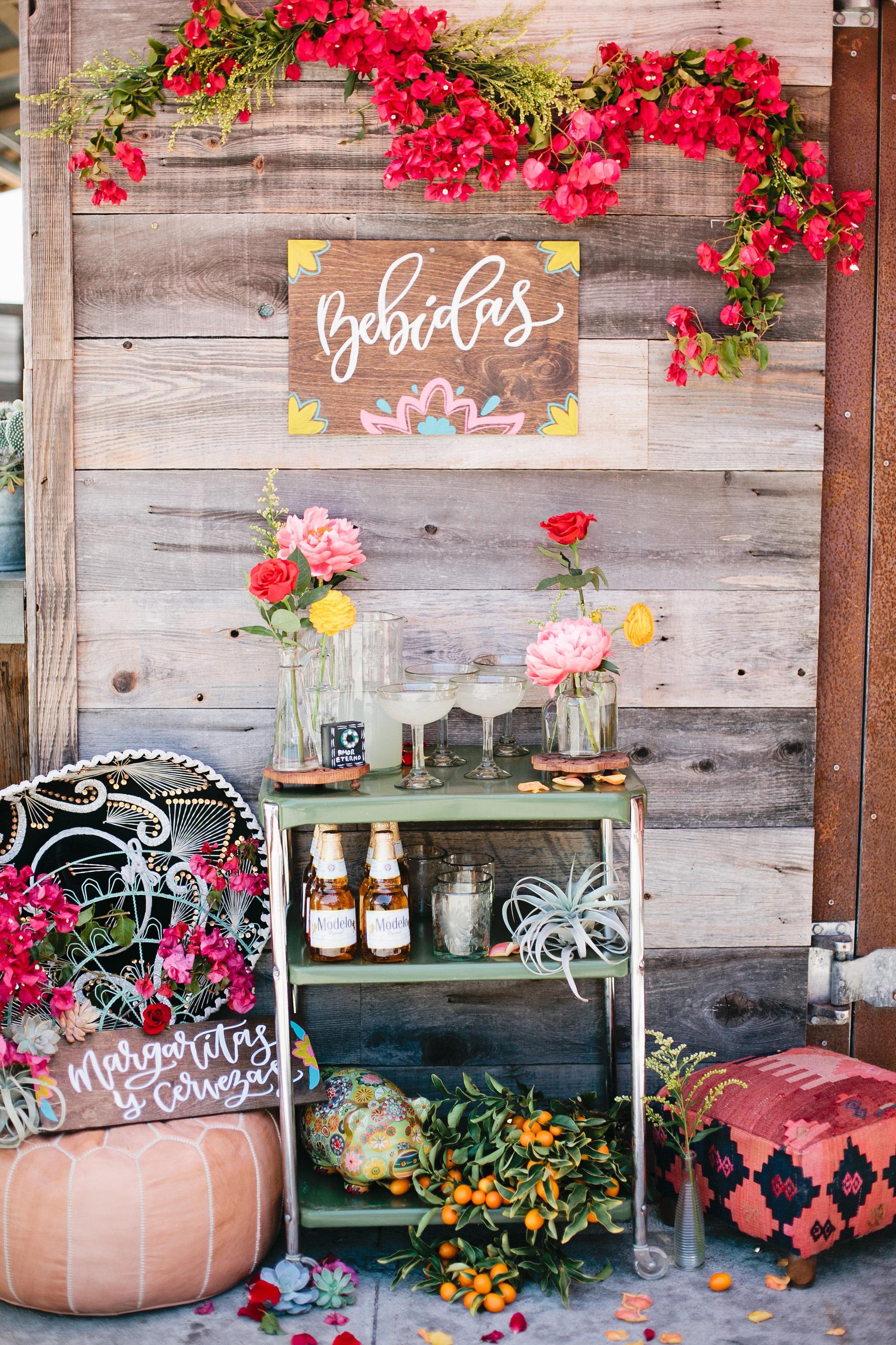 Margarita bar station